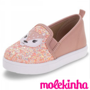 *Sapato Infantil Raposinha Molekinha 2118124RC