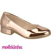 Sapato Molekinha - ouro Rosado 2528100