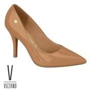 Scarpin Vizzano Camel Verniz  11841101