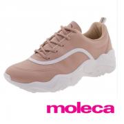 Tênis Moleca Rosa/Branco/Rosa-Rosa 5677100