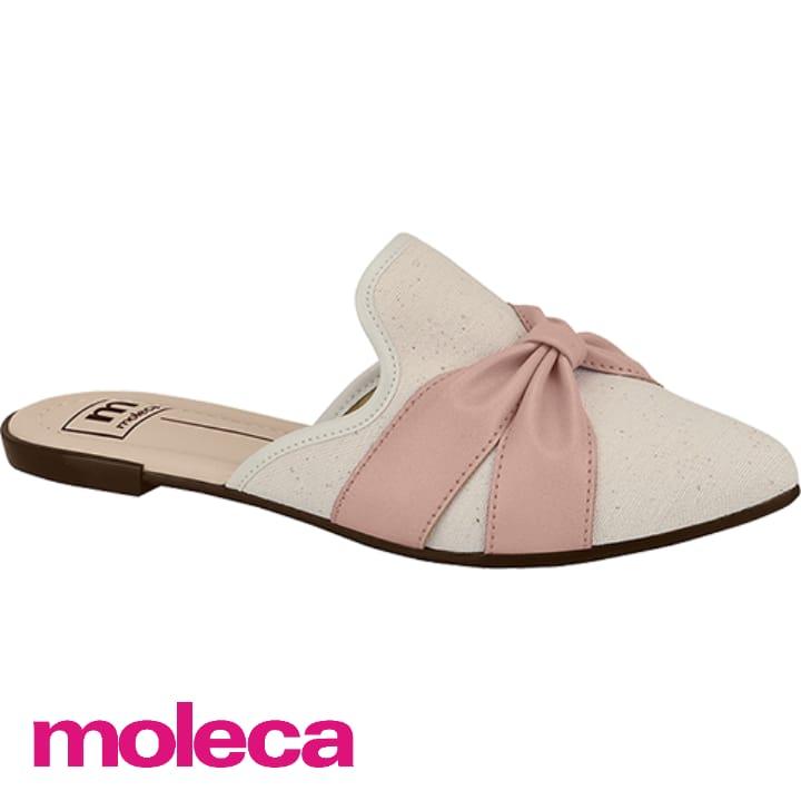 Mule Moleca Lona Oceania Nó  Rosa 5444311E