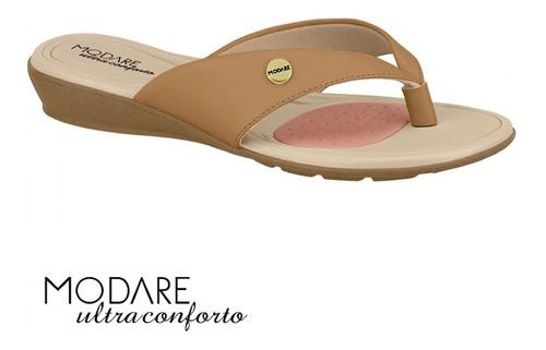 Sandália Caramelo Modare Ultraconforto 7127213