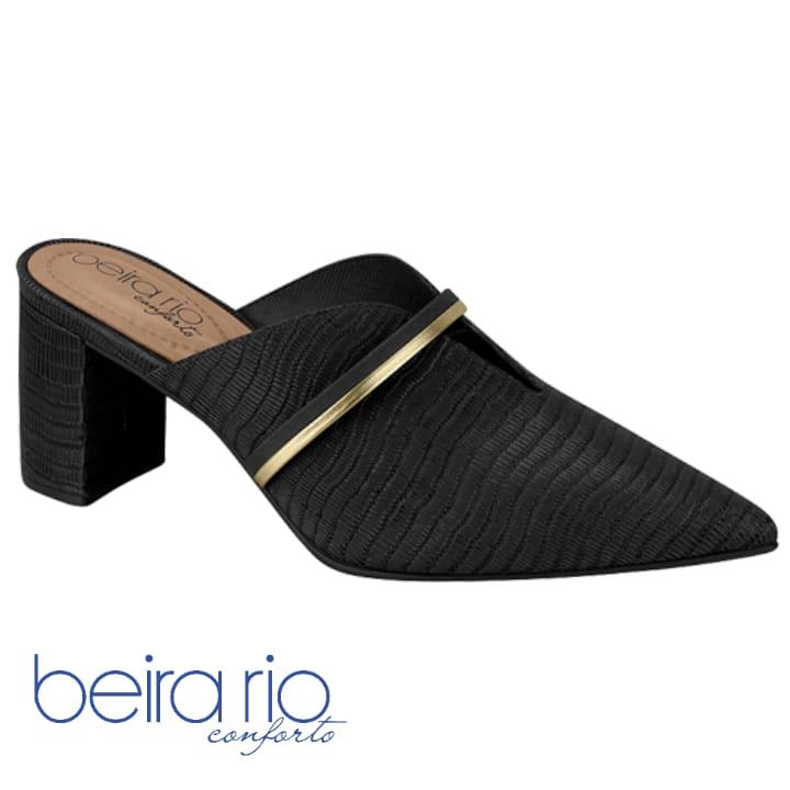 Sapato Beirar Rio Mule Preto 4241-105