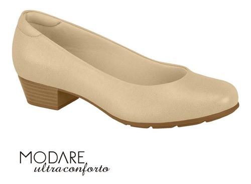 Sapato Feminino Bege Modare 7032400