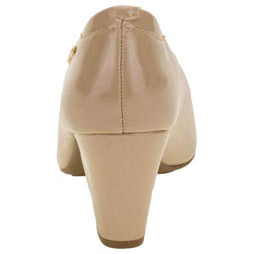 *Sapato Feminino Salto Médio Bege Modare 7305400