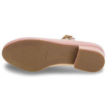 Sapato Infantil Feminino Molekinha Rosa Original 2528101