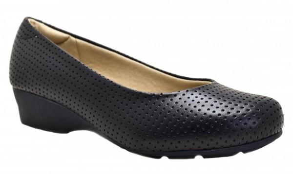 Sapato Modare Preto Microfuro Napa Ultraconforto 7014100