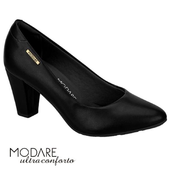 Sapato Modare Preto Verniz 7305100