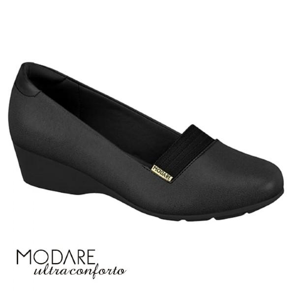 Sapato Napa Preto Sense Flex 7014255