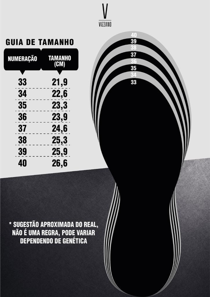Sapato Scarpin Feminino Vizzano Bico Fino 1122628 Salto Baix