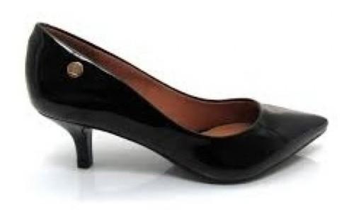 Sapato Scarpin Verniz Vizzano Bico Fino Salto Baixo 1122628