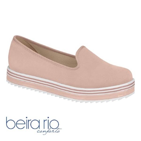 Sapato Slipper Beira Rio Napa Rosa 4196500