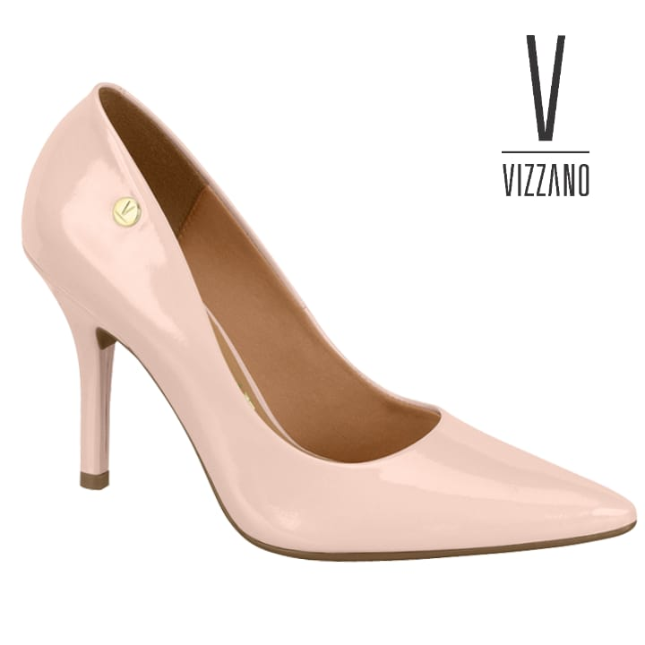 Sapato Vizzano Feminino Verniz Rosa 11841101