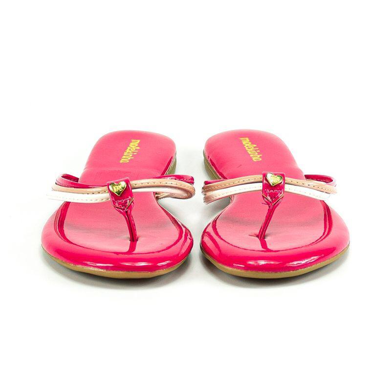 *Tamanco Molekinha Menina Rosa Pink Brilho Original 2309230