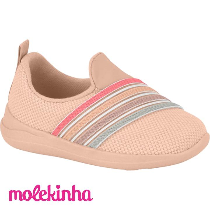 Tênis Baby Molekinha Rosa 2117204