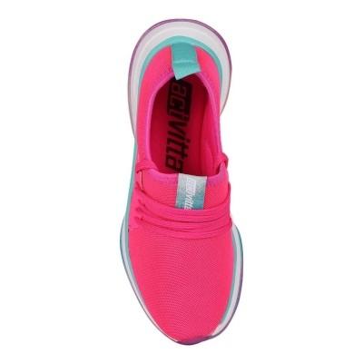 Tênis Casual Feminino Activitta Nylon 4808100 Pink Neon