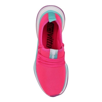 *Tênis Casual Feminino Actvitta Nylon 4808100 Pink Neon