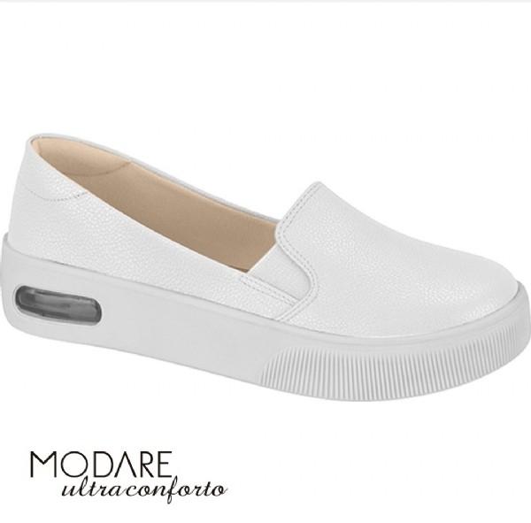 Tênis Feminino Modare Slip On Branco 7350101
