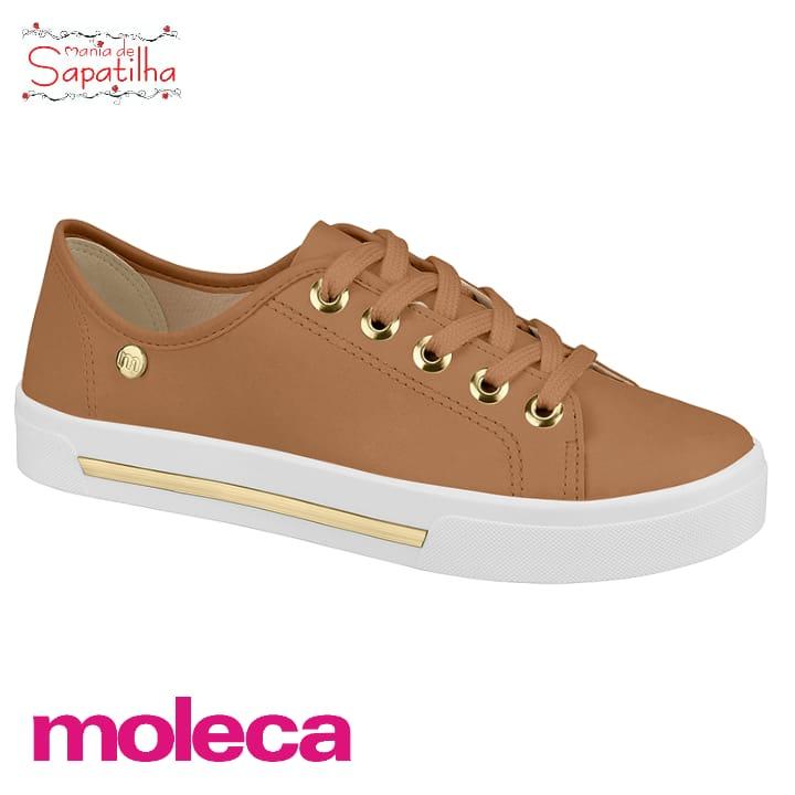 Tênis Moleca Napa Rose 5667404