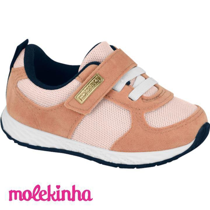 *Tênis Molekinha Camurça Original 2701105
