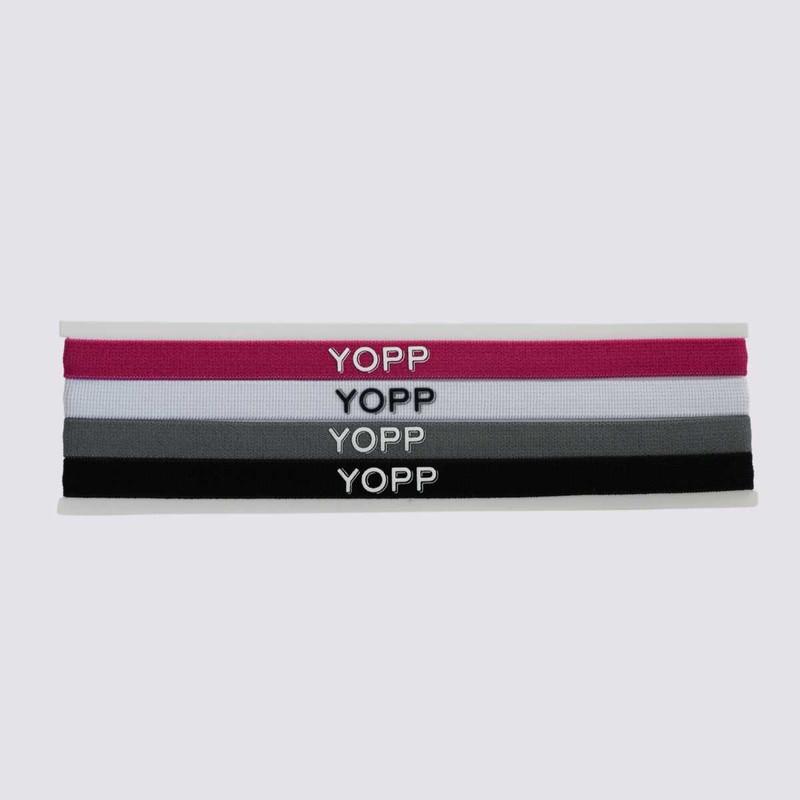 Faixa De Cabelo Com Silicone Antideslizante 4 Unid YOPP