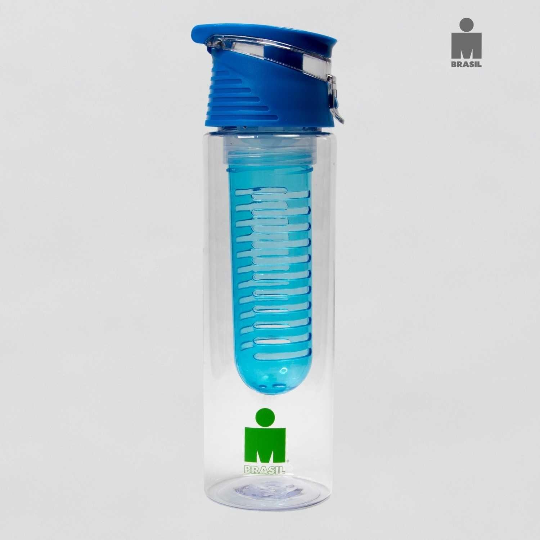 Garrafa Plástica Azul - IRONMAN BR