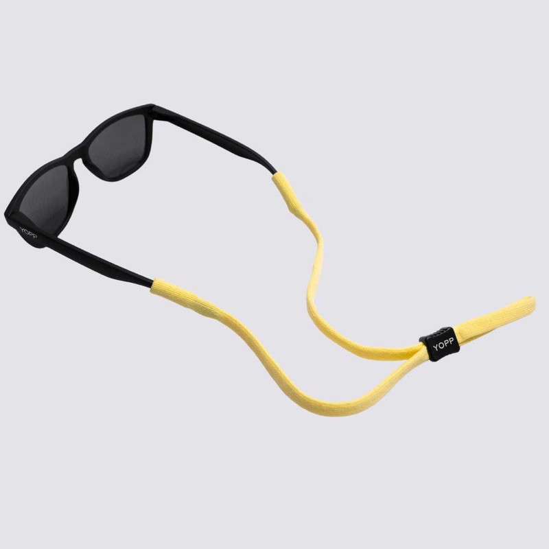 KIT Cordão Salva Óculos YOPP - 10 unidades na cor amarelo