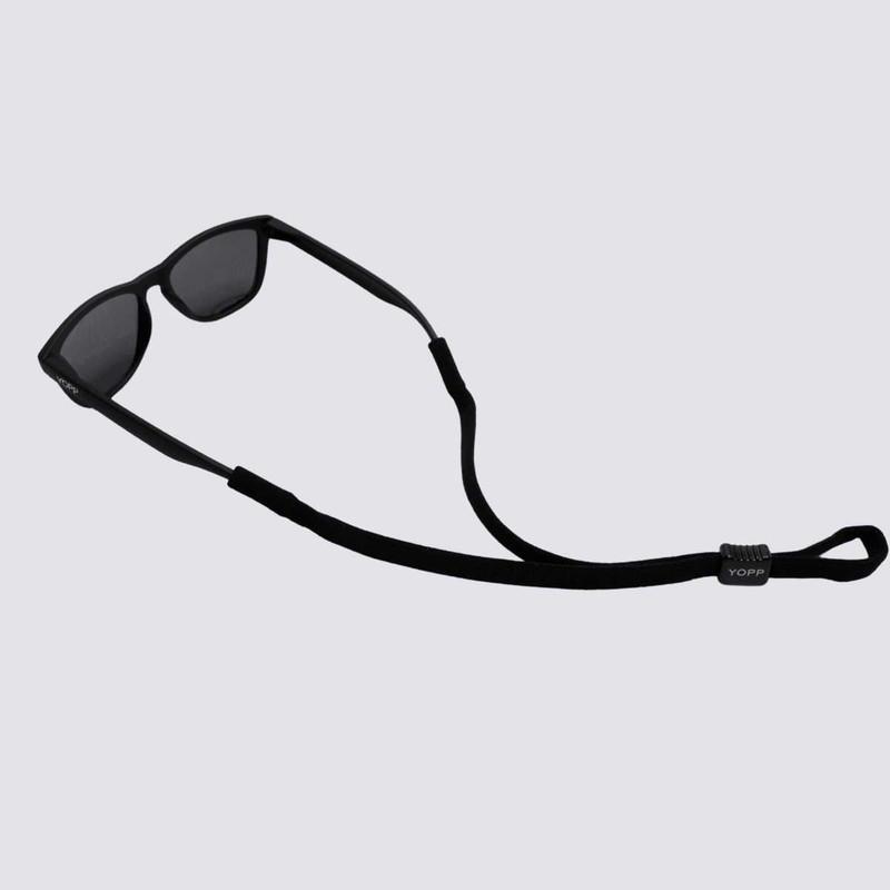 KIT Cordão Salva Óculos YOPP - 10 unidades na cor preto