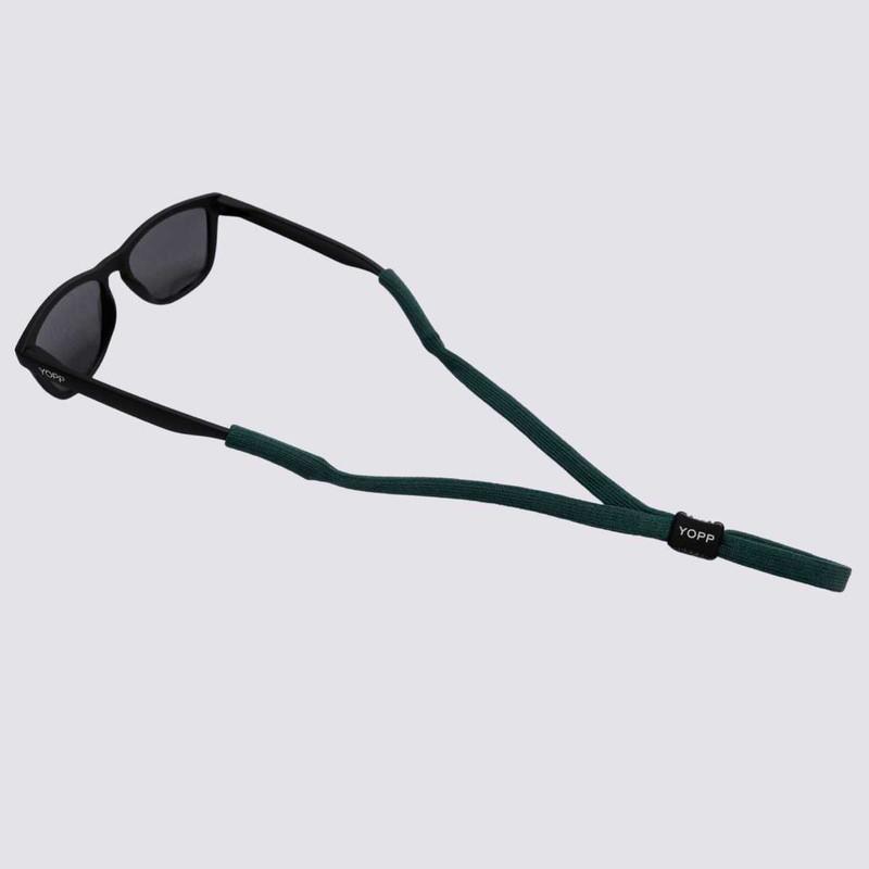 KIT Cordão Salva Óculos YOPP - 10 unidades na cor verde