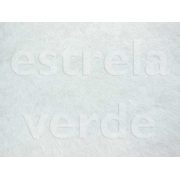 CARPETE BRANCO C/ RESINA (001) 2,00 LARG