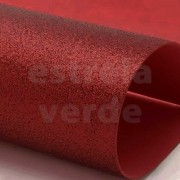 EVA GLITTER 40X60 VERMELHO 2MM