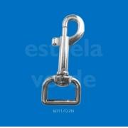 MOSQUETAO METAL 6011/Q P/ COLEIRA Q ZN 10UN