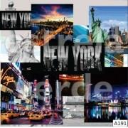 VELUDO ESTAMPADO NEW YORK (A191) DESCONTINUADO