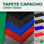 TAPETE CAPACHO LISO FUNDIDO 10MM 40X60 UNIDADE