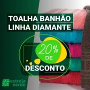 TOALHA BANHAO DIAMANTE 0,80X1,65