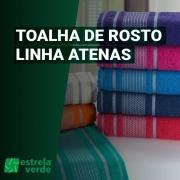 TOALHA DE ROSTO ATENAS 0,45X0,75