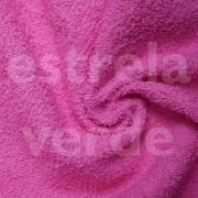 TOALHA FELPUDA ROSA PINK EM METRO 280GR  1,40 LARG