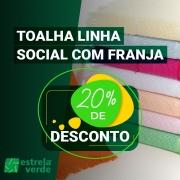 TOALHA SOCIAL FRANJA 0,20X0,35