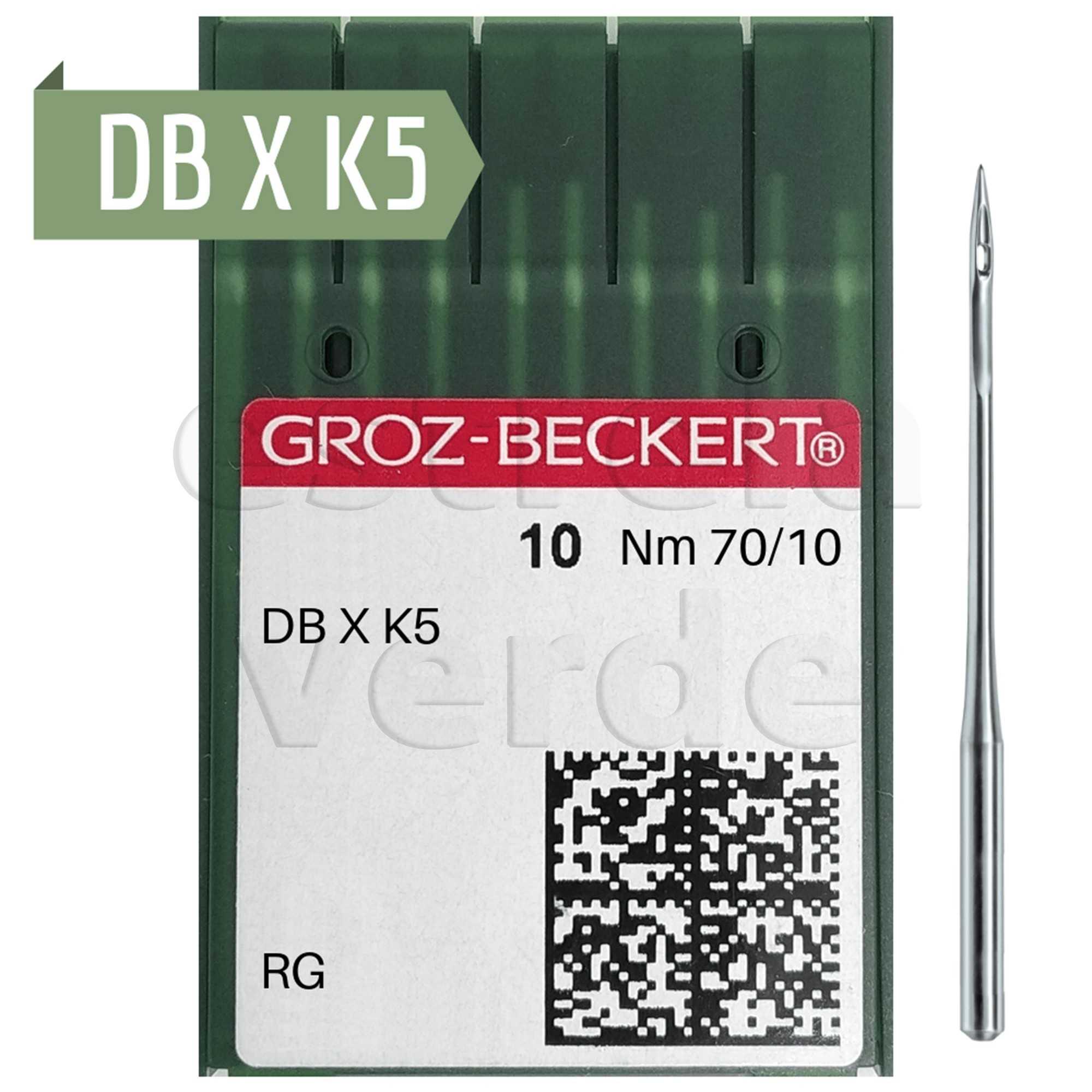 AGULHA BORDADEIRA DBXK5 70 FFG 10UN (783992)  - Estrela Verde