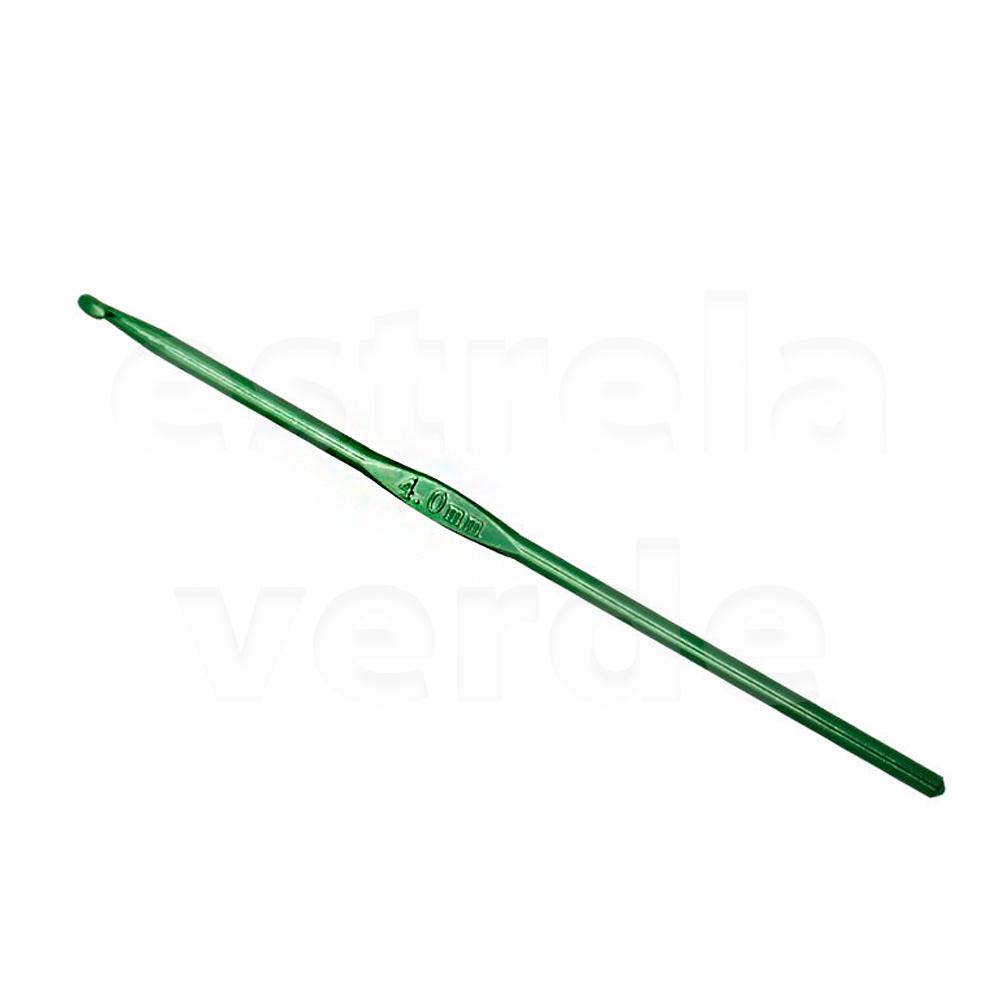 AGULHA CROCHE BARBANTE UT.087  - Estrela Verde