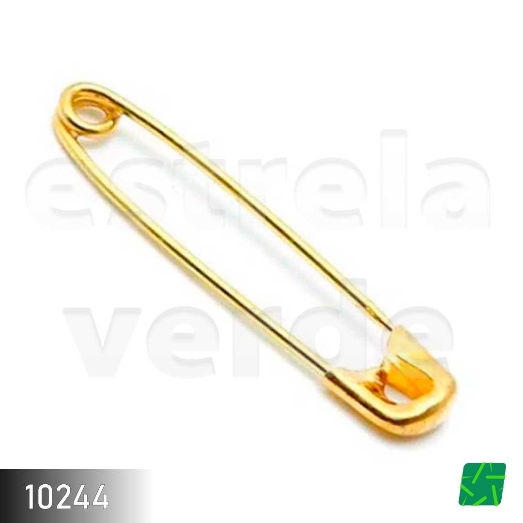 ALFINETE SEGURANCA UT.517 100UN APROX  - Estrela Verde