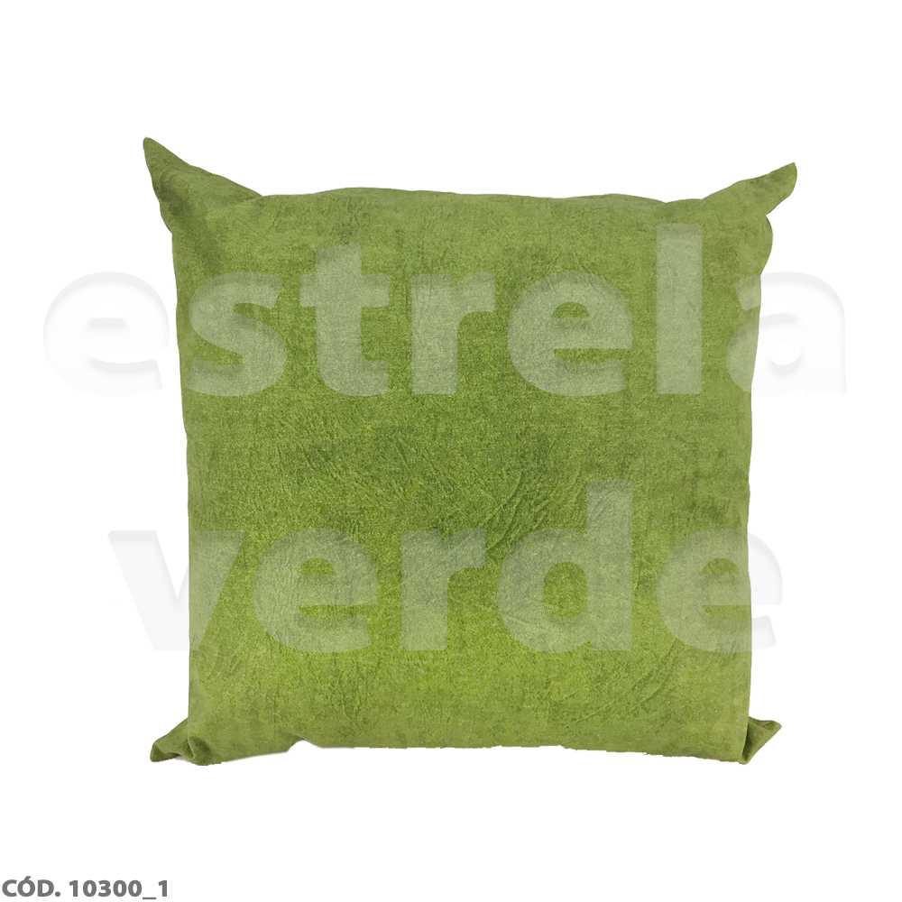 ALMOFADA ESTAMPADA 45X45 C/ REFIL  - Estrela Verde