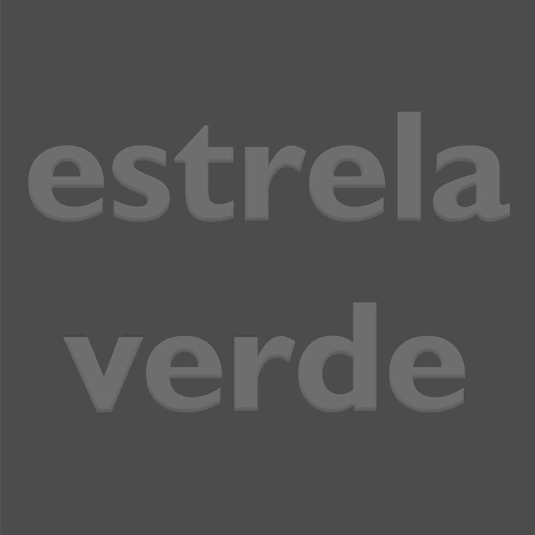 BAGUN CHUMBO 030  - Estrela Verde