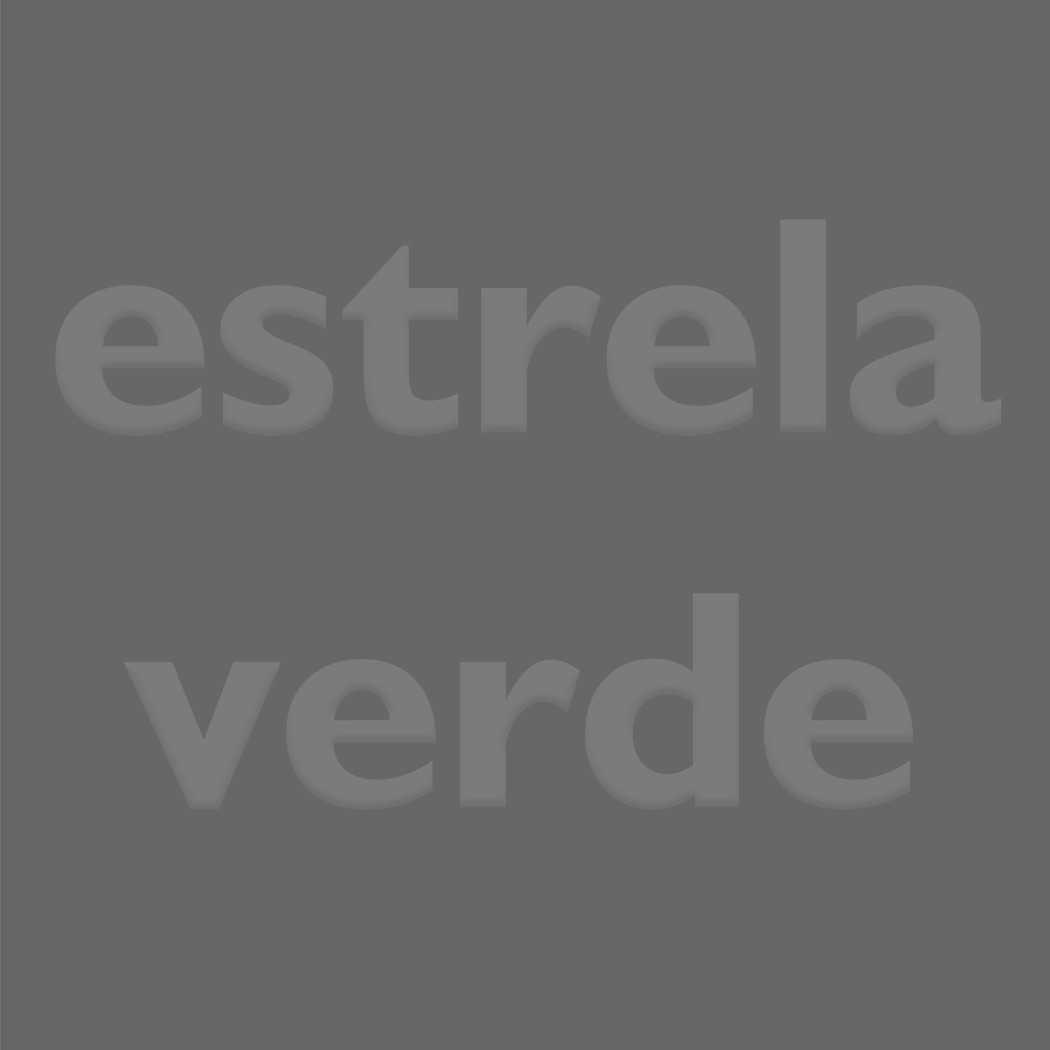 BAGUN CINZA 030  - Estrela Verde