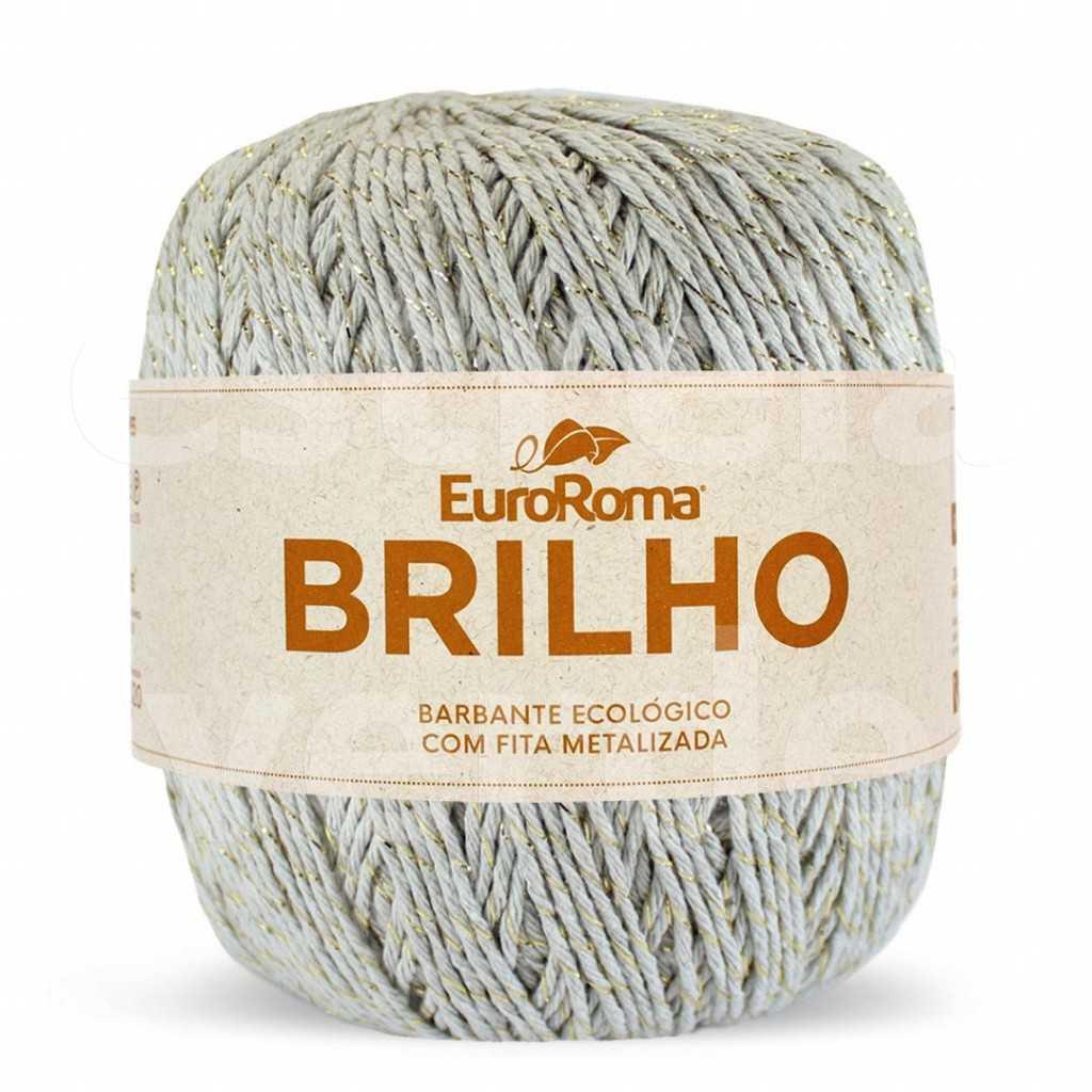 BARBANTE BRILHO 300 CAQUI/OURO N6 400GR  - Estrela Verde