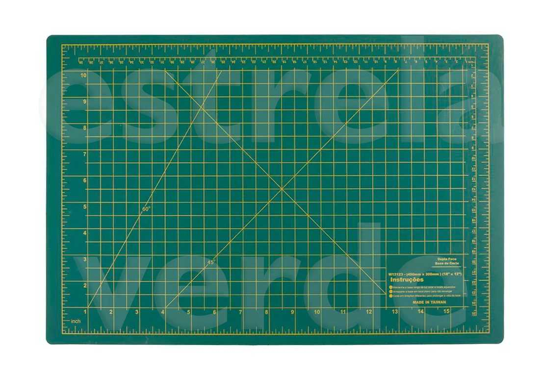 BASE CORTE 600X450X3MM  - Estrela Verde