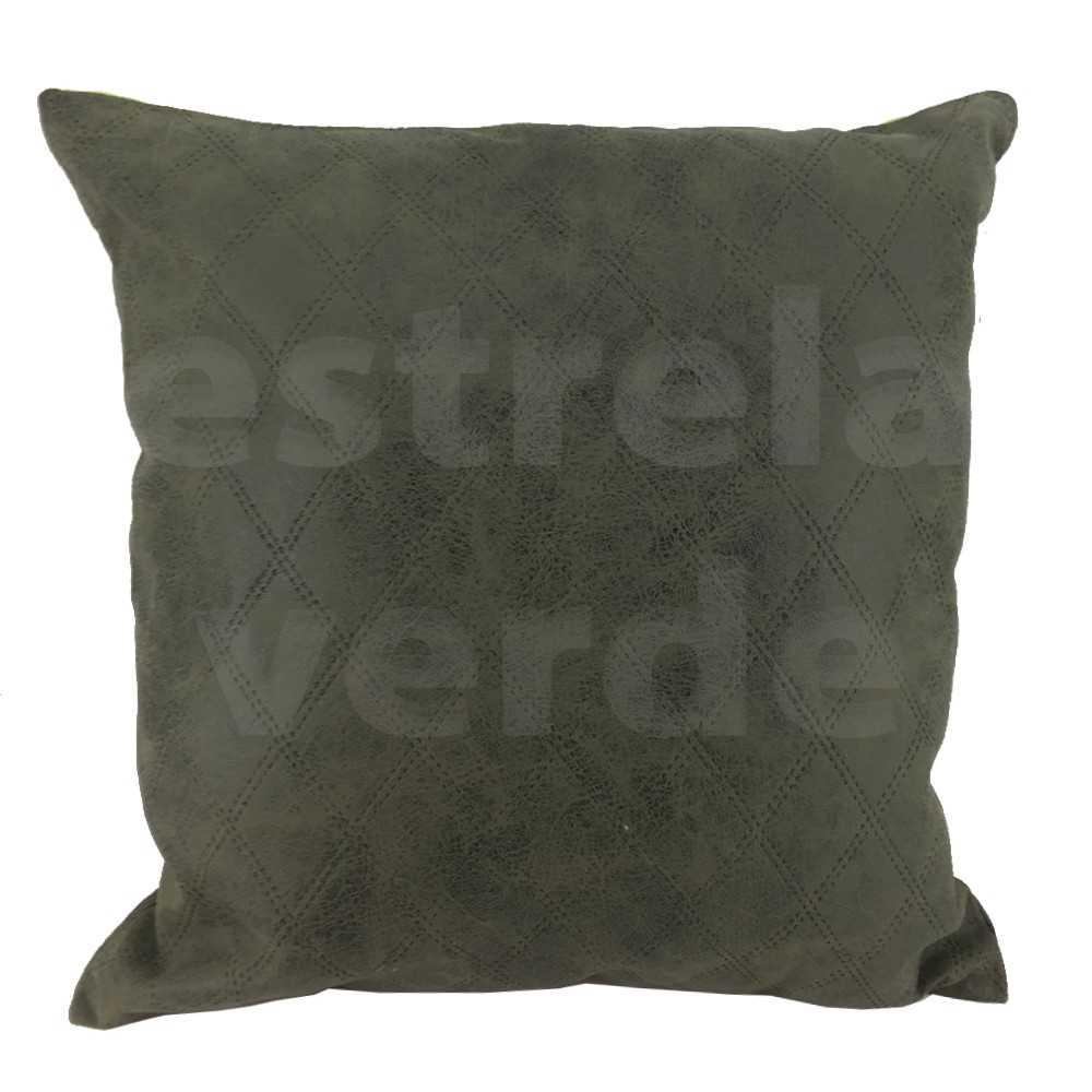 CAPA DE ALMOFADA NOBUCK VERDE CAP-M54  - Estrela Verde