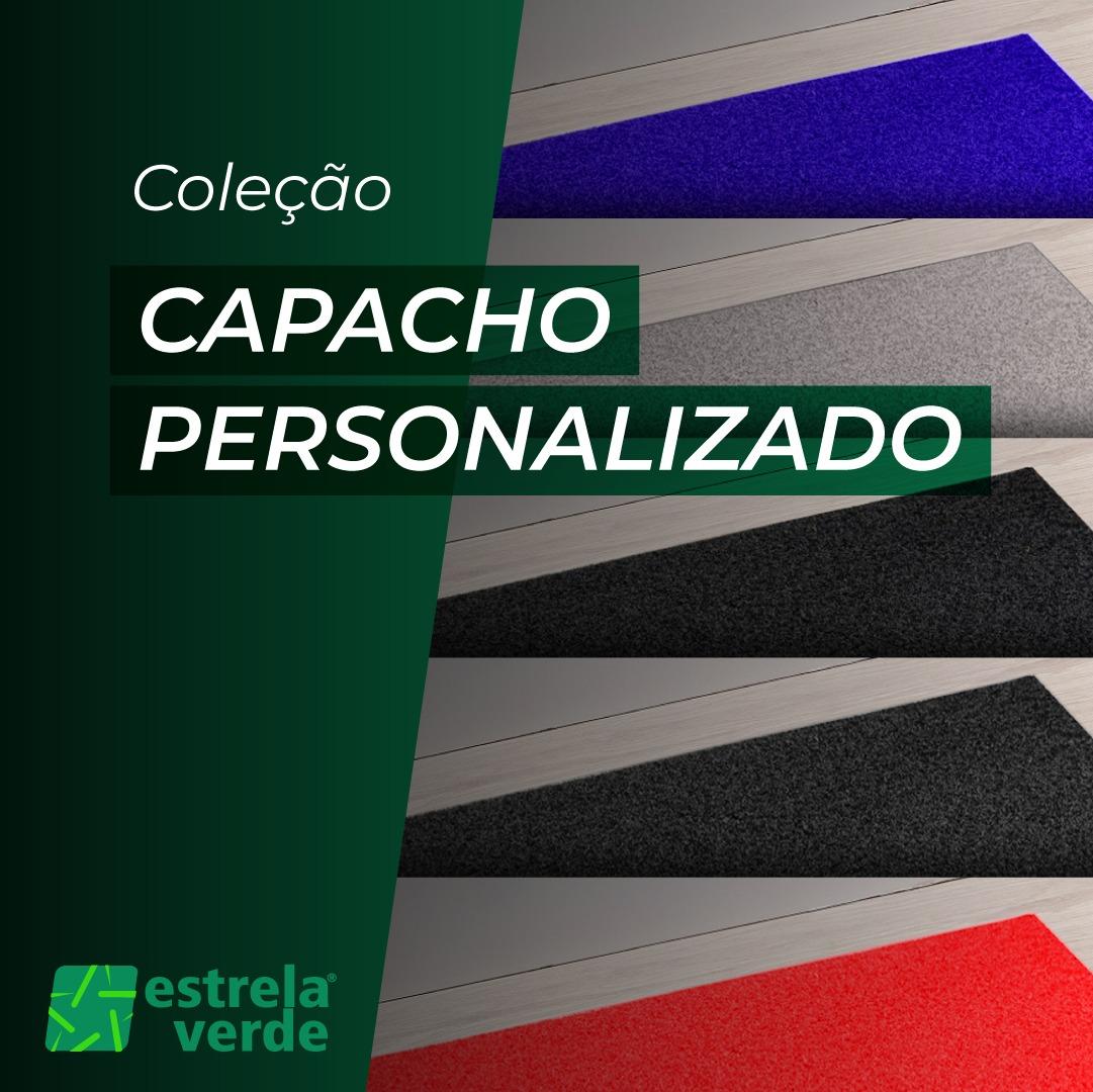 CAPACHO FUNDIDO 10MM PERSONALIZADO  - Estrela Verde
