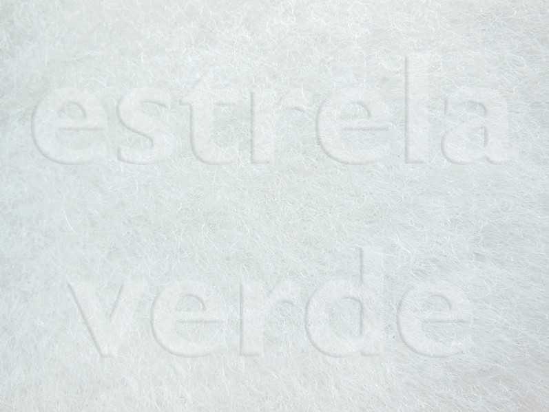 CARPETE BRANCO C/ RESINA (001) 2,00 LARG  - Estrela Verde