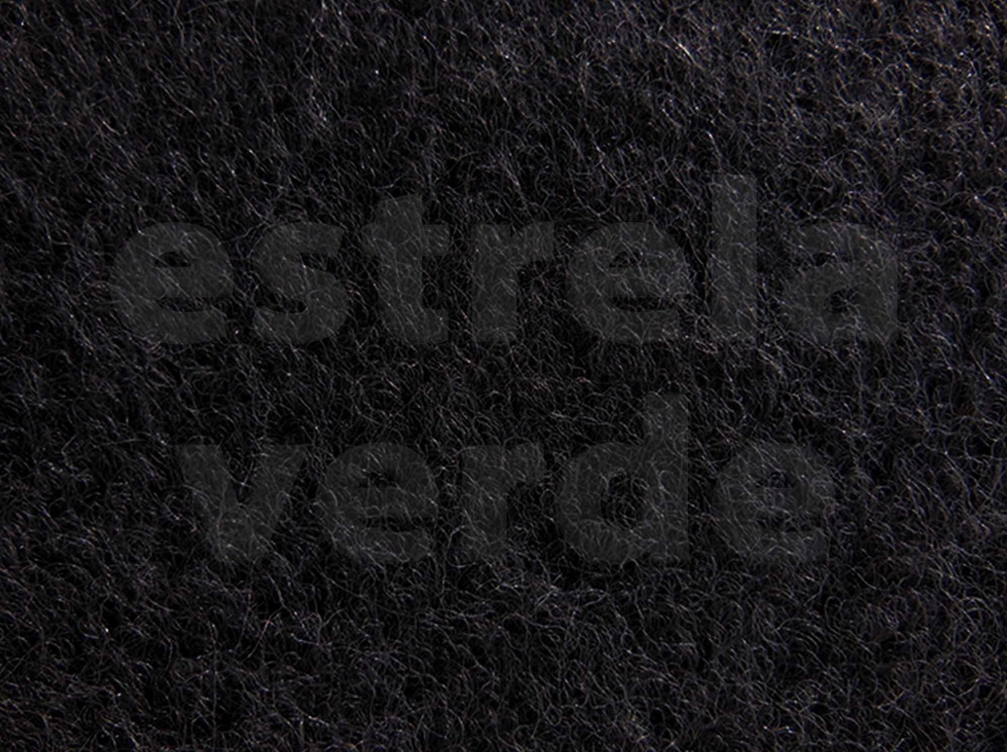 CARPETE CINZA ESCURO VW C/ RESINA (081)  2,00 LARG  - Estrela Verde